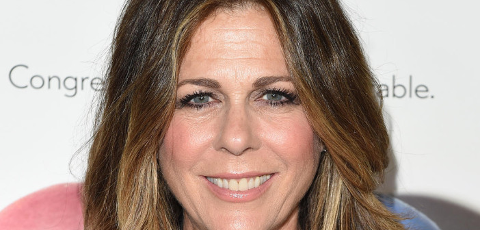 WEST HOLLYWOOD, CA - MAY 08:  Actress Rita Wilson attends the 'Fed Up' premiere held at the Pacfic Design Center on May 8, 2014 in West Hollywood, California.  (Photo by Jason Merritt/Getty Images)